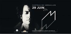 M en concert au château de versailles le 29 juin 2010