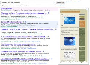 Google SERP prévisualisation