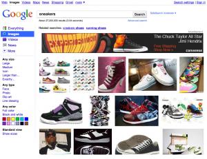 Publicité sur Google Images