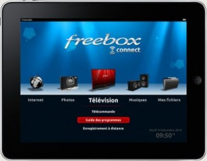 freebox connect iPad