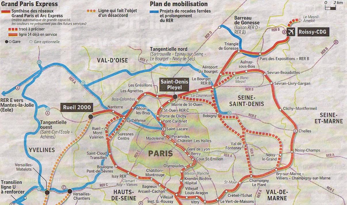 Mon Coin sur le Web » Blog Archive Grand Paris Express - Mon Coin ...