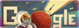 Doodle Google Youri Gagarine