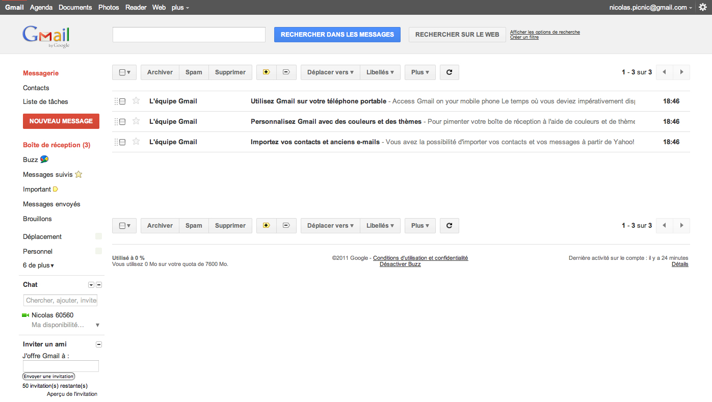 how to add archiving to gmail
