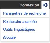 nouvelle interface de Google